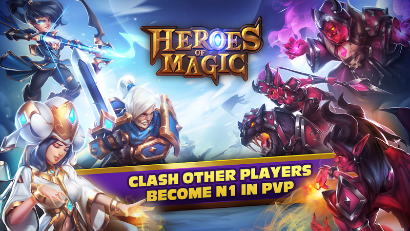 Скриншот Heroes Of Magic - Card Battle