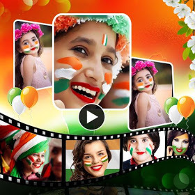 Independence Day Video Maker with Music