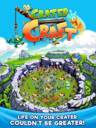 Скриншот Crater Craft: Farm, Build, Trade