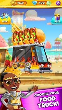 Скриншот Foodgod's Food Truck Frenzy